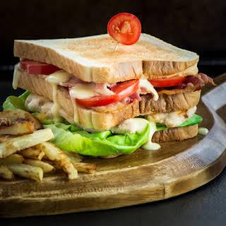The Ultimate Club Sandwich.