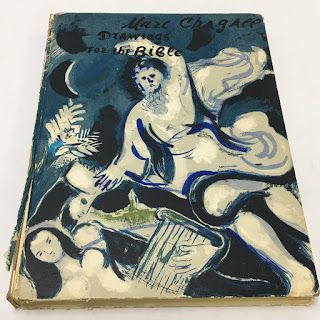 """Marc Chagall """"Drawings For the Bible"""" Book"""