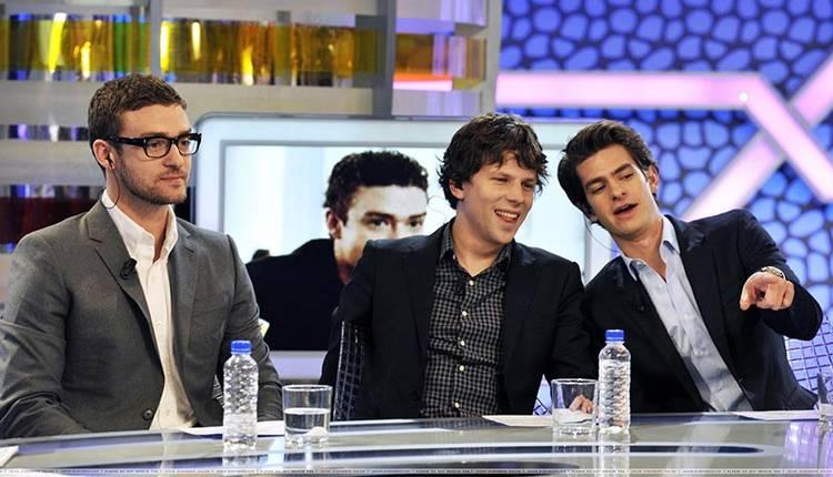 """Justin Timberlake y Jesse Eisenberg presentaron """"La red social"""" en """"El hormiguero"""""""