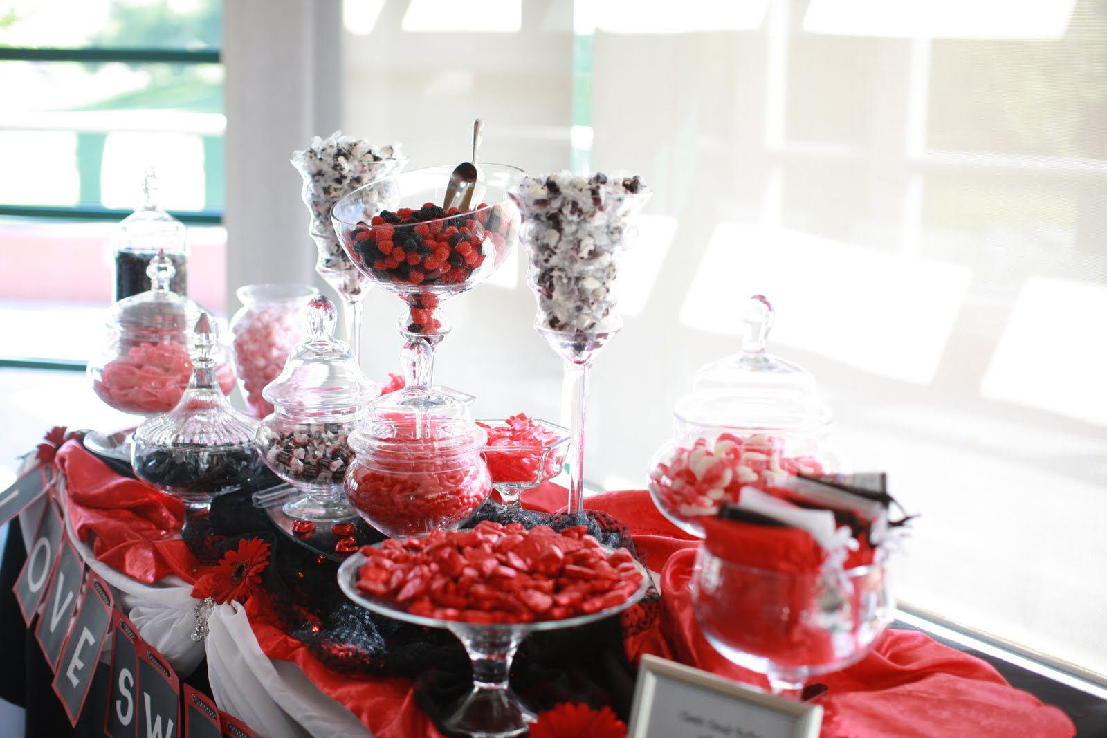 Abis blog candy tables wedding