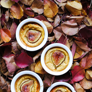 Easy Fig Ricotta Custards