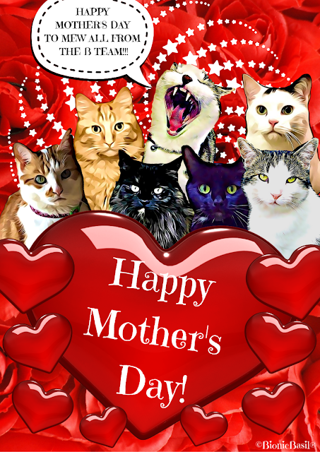 Happy Mothers Day Card 2021 ©BionicBasil®