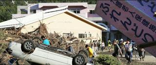 Typhon au Japon: Le bilan passe à 17 morts selon les autorités