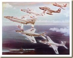 McAir Four Aircraft Poster