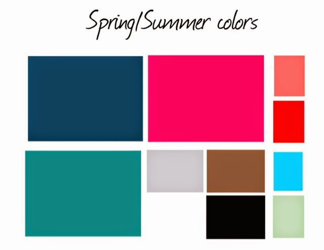 110 creations wardrobe architect spring summer color palette