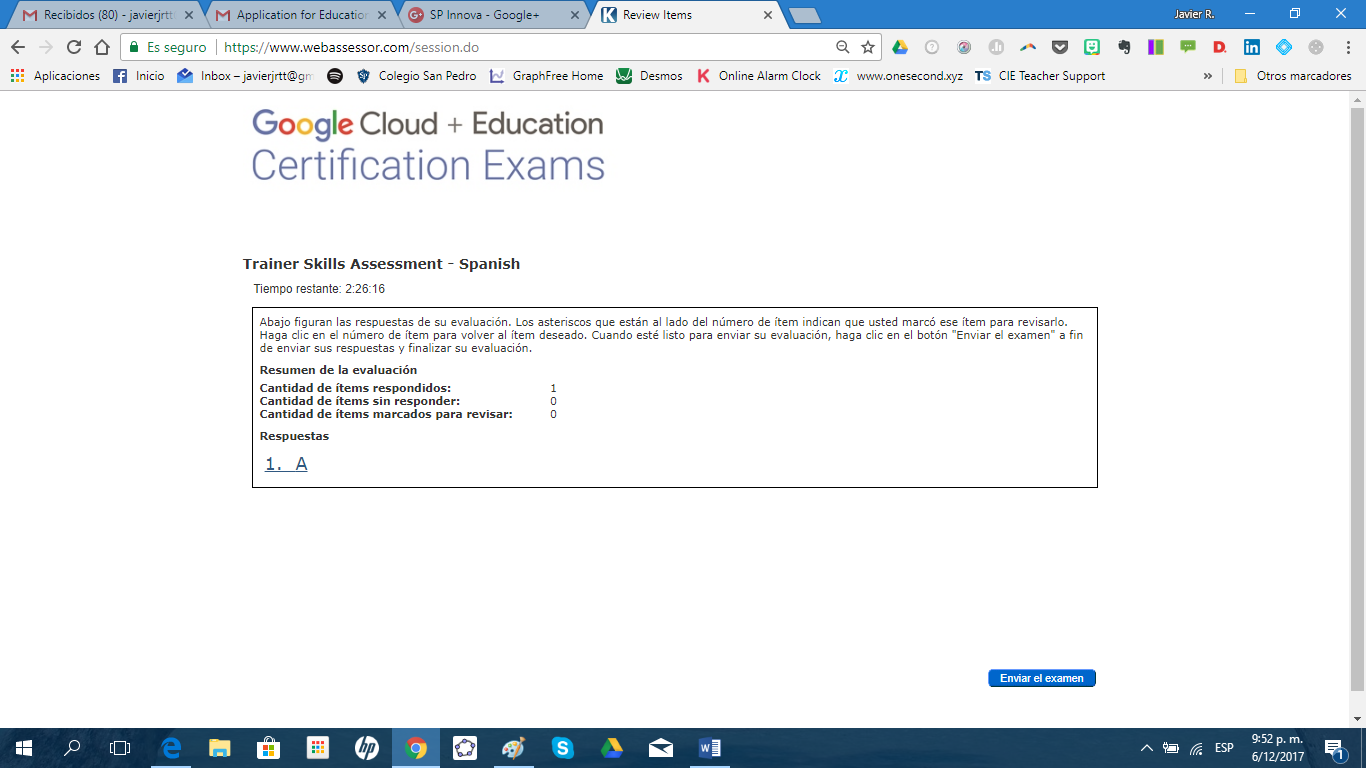 Google Educator Certifications Google