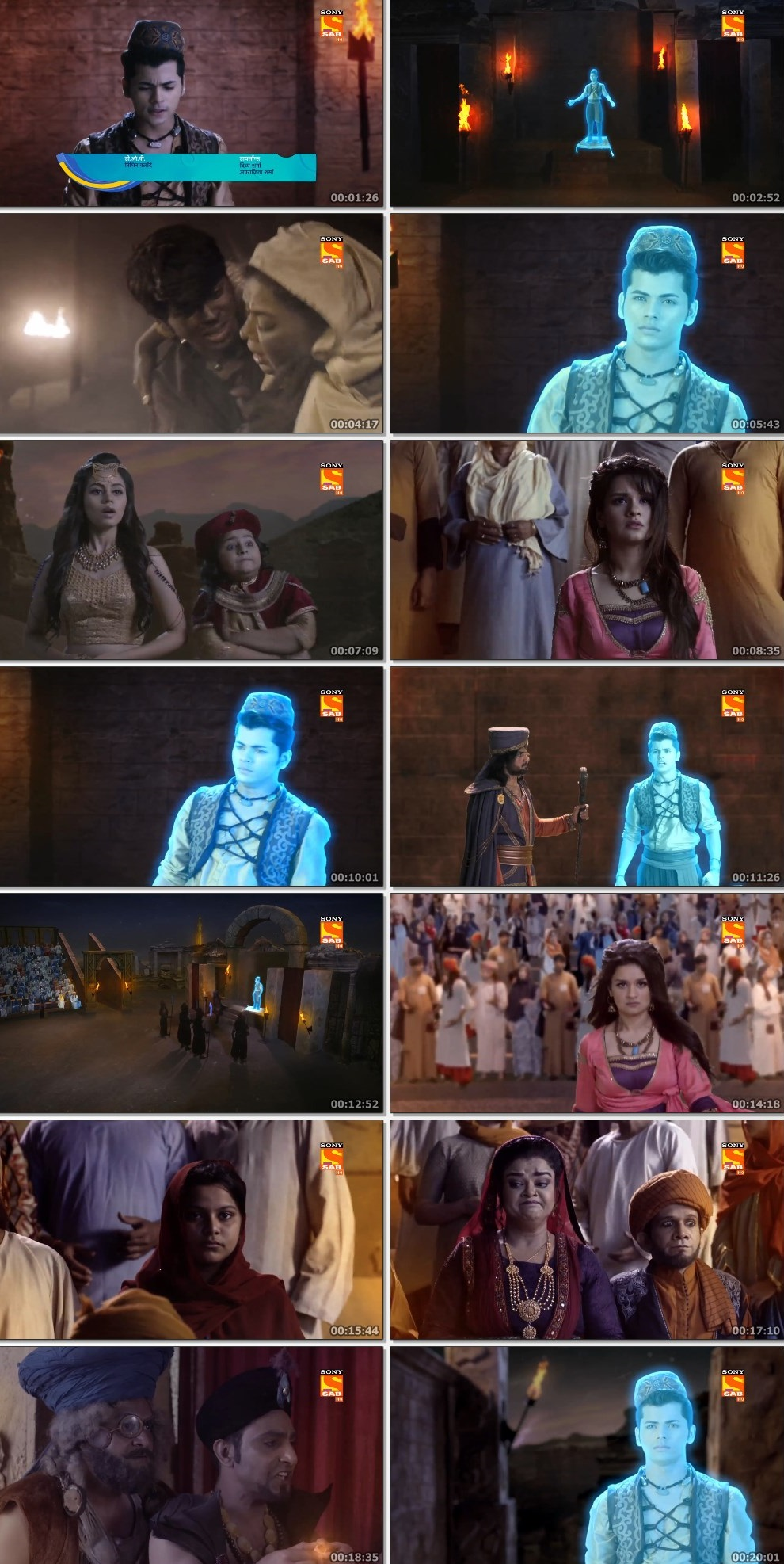 Screenshots Of Hindi Show Aladdin – Naam Toh Suna Hoga 2019 Episode 295 300MB 720P HD