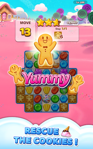 Sweet Road: Cookie Rescue Free Match 3 Puzzle Game  screenshots 10