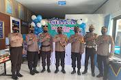 HUT Bhayangkara Lantas Ke-66,Satlantas Polres Wajo Gelar Syukuran