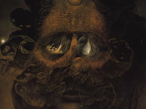 Zdzislaw Beksinski Ugly, Death