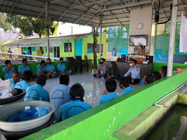Warga Binaan Lapas Narkotika Karang intan, Dibekali Pelatihan Wirausaha Mandiri