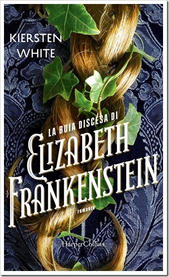 La buia discesa di Elizabeth Frankenstein cover