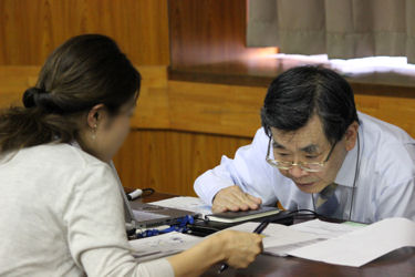 BASセミナー デモコース:渡辺訓行先生による個別相談コーナー