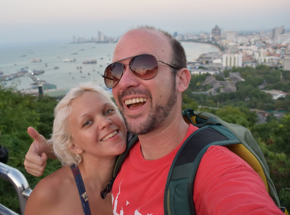 good times at the viewpoint near the Thai navy broadcasting station...