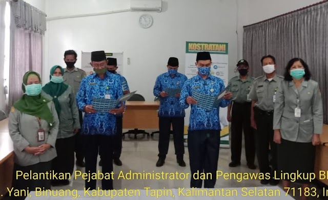 Kementan Lantik Pejabat Administrator dan Pengawas Lingkup BPPSDMP
