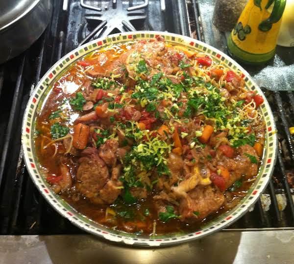 Pressure Cooker Osso Buco With Gremolata