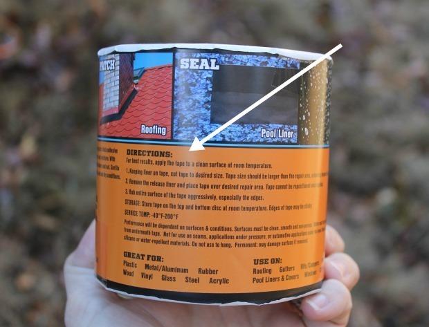 easy waterproof tape