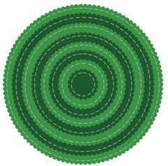 circle scallop