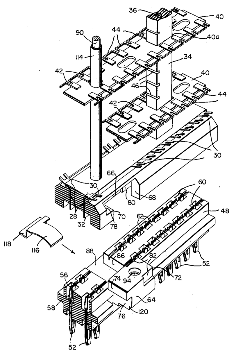 An 8 Tube Module From A 1954 Ibm Mainframe Examined Its Key Circuit With Lightemitting Diode Free Electronic Circuits 8085 Patent 2754454 Describes The Mechanism In Detail