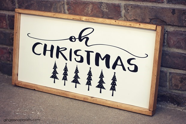 oh christmas tree sign 0058