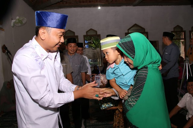 Bupati Hadiri safari Ramadhan di masjid Al-Hidayah Di Desa Negeri Ratu
