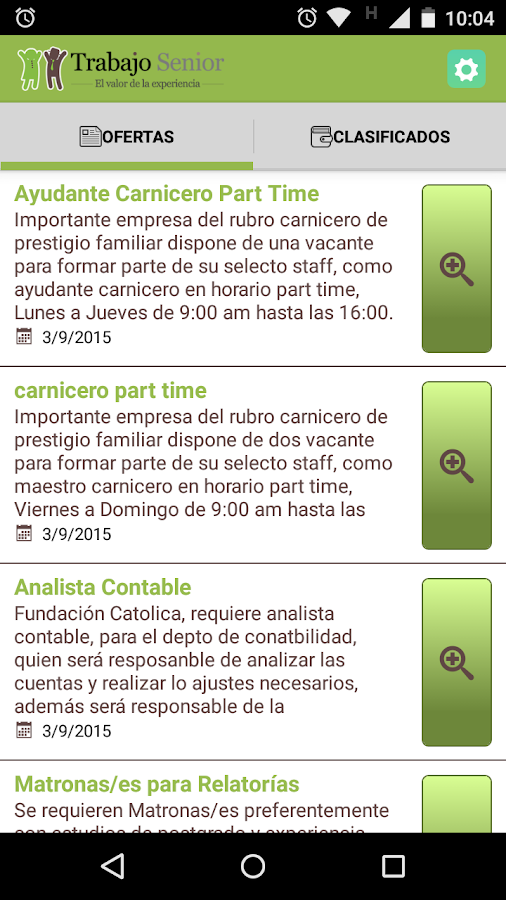 Trabajo Senior- screenshot