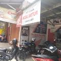 Showroom Motor Pos Honda Roda Motor Dibobol Maling Tiga Unit Motor Raib