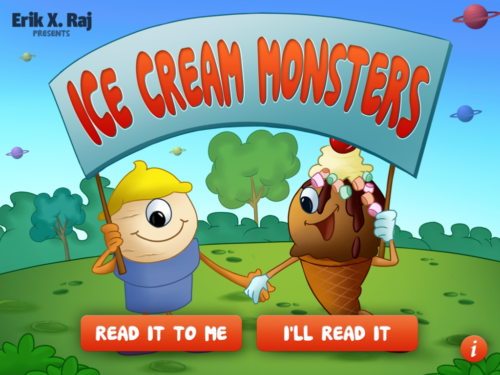 Ice Cream Monsters main page
