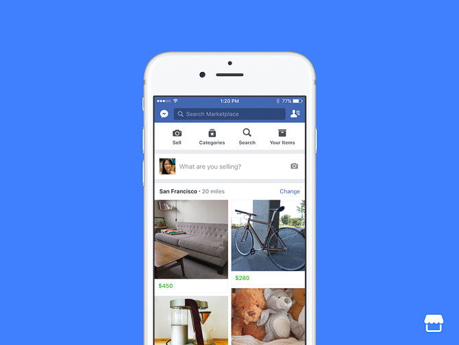 Facebook giới thiệu chợ mua bán trực tuyến Marketplace ảnh 1