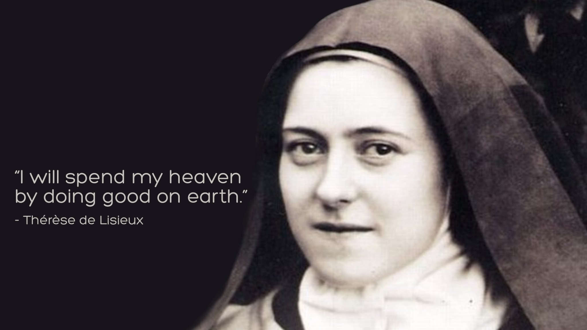St Therese De Lisieux Quotes QuotesGram