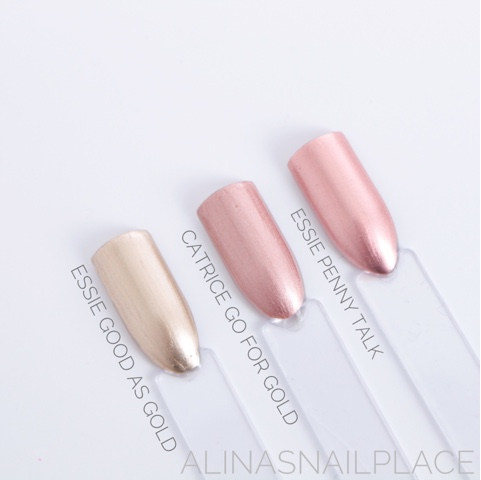 catrice go for gold essie penny talk vergleich comparison