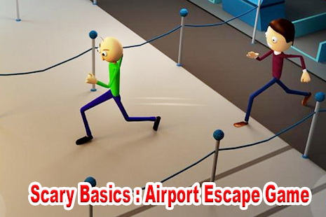 Scary Basics: Airport Escape Game Screenshot