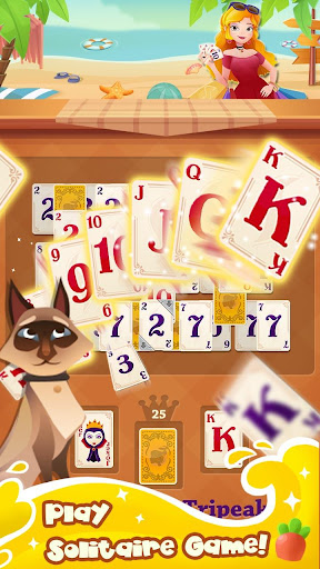 Solitaire Girl Dress Up! screenshots 2