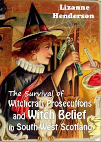 Cover of Lizanne Henderson's Book The Survival of Witchcraft Prosecutions and Witch Belief in South West Scotland