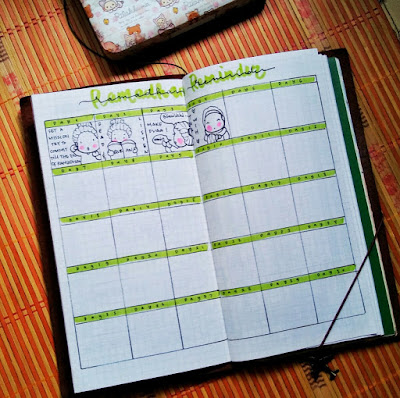 bujo collection ideas for ramadan kareem