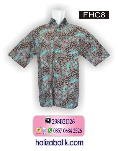 baju batik kantor, model baju kerja batik, contoh desain batik