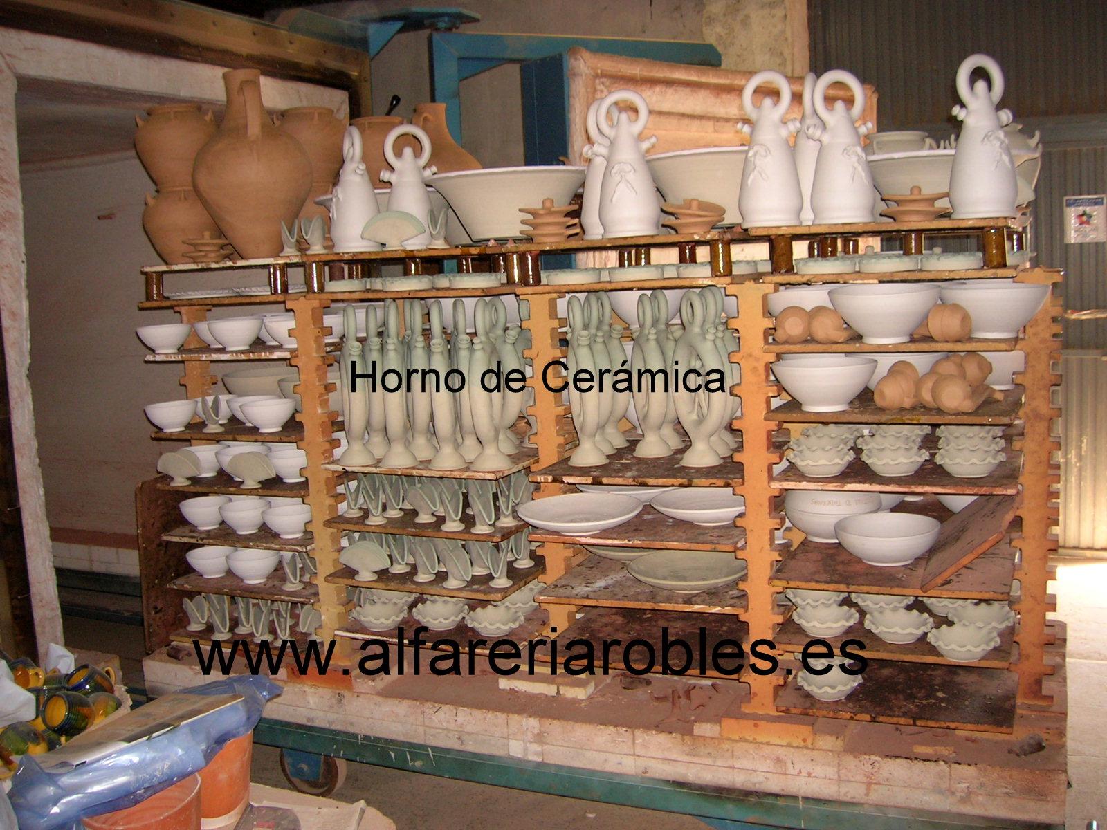 Alfarer a cer mica robles artesan a de almeria for Productos para ceramica