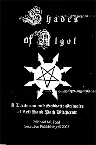 Cover of Michael Ford's Book Shades Of Algol (A Luciferian and Sabbatic Grimoire)