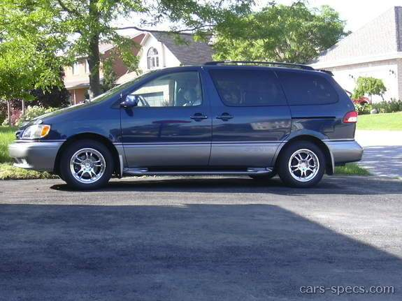2001 toyota sienna minivan specifications pictures prices. Black Bedroom Furniture Sets. Home Design Ideas