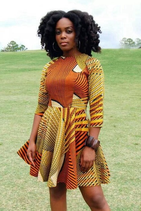 latest short ankara gown styles (2)
