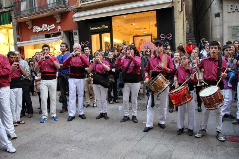 19è Aniversari Castellers de Lleida. Paeria . 5-04-14 - IMG_9617.JPG