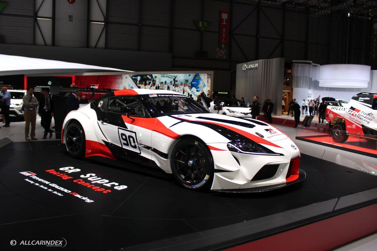 2018 Toyota Supra >> Geneva 2018 Toyota Gr Supra Racing Concept W Video