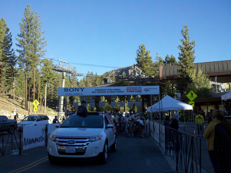 Mammoth Gran Fondo • Start at the Village in Mammoth