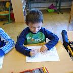 Kindergartenkinder besuchen die 1. Klasse