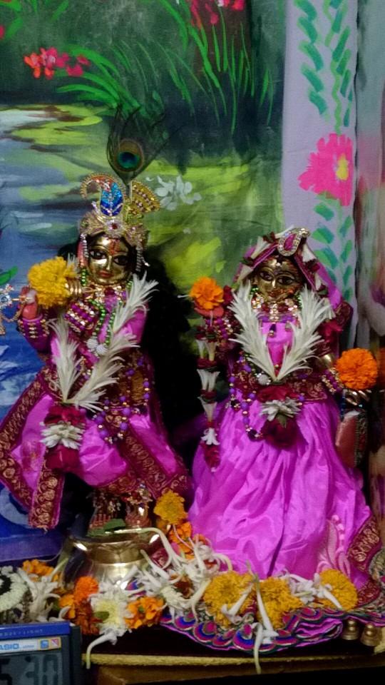 ISKCON Bhusawal Deity Darshan 13 Dec 2015 (3)