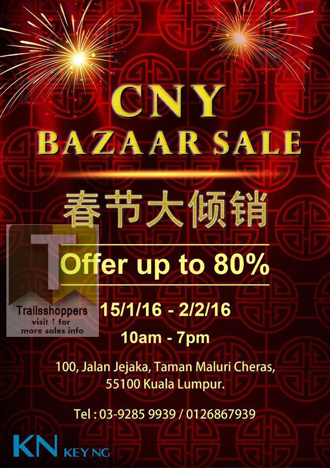 KN Key Ng CNY Bazaar Sale 2016