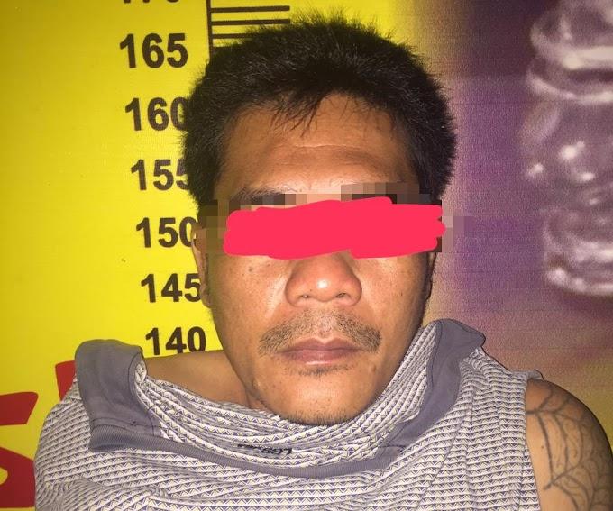 Seorang Pria Pengguna Narkoba ditangkap Polisi