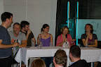 Manfred Baumann, Christian Hammer, Linda Dziacek, Annette Hexelschneider und Birgit Denk