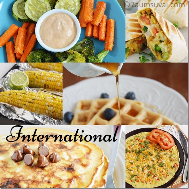 International recipes