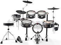 Mesh Head Electric Drum Kit